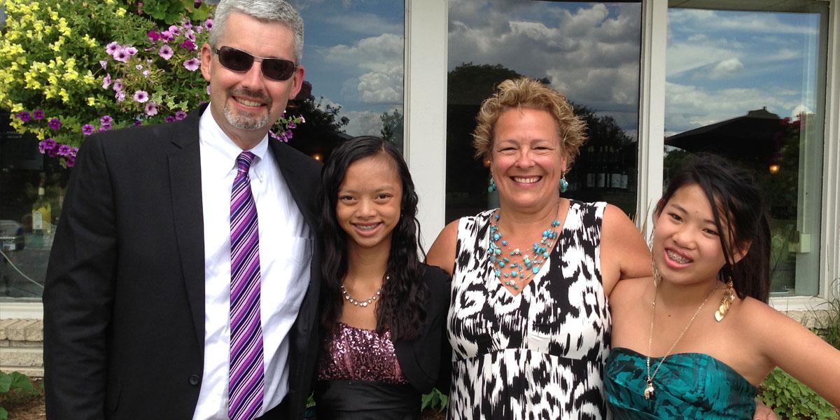 Lija and family